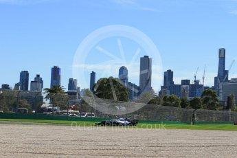 World © Octane Photographic Ltd. Formula 1 – Australian GP - Friday Practice 1. Williams Martini Racing FW41 – Sergey Sirotkin. Albert Park, Melbourne, Australia. Friday 23rd March 2018.
