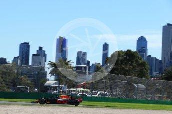 World © Octane Photographic Ltd. Formula 1 – Australian GP - Friday Practice 1. Aston Martin Red Bull Racing TAG Heuer RB14 – Daniel Ricciardo. Albert Park, Melbourne, Australia. Friday 23rd March 2018.