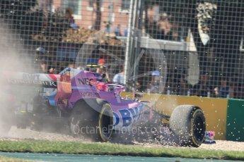 World © Octane Photographic Ltd. Formula 1 – Australian GP - Friday Practice 2. Sahara Force India VJM11 - Esteban Ocon. Albert Park, Melbourne, Australia. Friday 23rd March 2018.