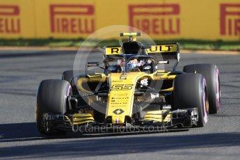 World © Octane Photographic Ltd. Formula 1 – Australian GP - Friday Practice 2. Renault Sport F1 Team RS18 – Carlos Sainz. Albert Park, Melbourne, Australia. Friday 23rd March 2018.