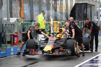 World © Octane Photographic Ltd. Formula 1 – Australian GP - Practice 3. Aston Martin Red Bull Racing TAG Heuer RB14 – Daniel Ricciardo. Albert Park, Melbourne, Australia. Saturday 24th March 2018.
