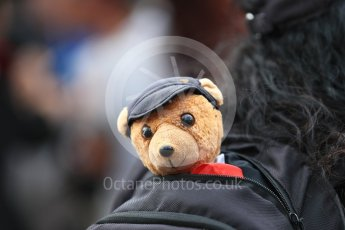 World © Octane Photographic Ltd. Formula 1 – Australian GP - Qualifying. Pitlane bear. Albert Park, Melbourne, Australia. Saturday 24th March 2018.