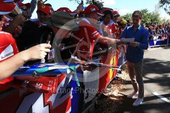 World © Octane Photographic Ltd. Formula 1 – Australian GP - Melbourne Walk. Nico Rosberg. Albert Park, Melbourne, Australia. Sunday 25th March 2018.