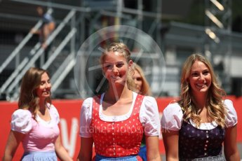 World © Octane Photographic Ltd. Formula 1 – Austrian GP - Drivers Parade. Red Bull Ring, Spielberg, Austria. Sunday 1st July 2018.