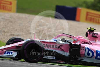 World © Octane Photographic Ltd. Formula 1 – Austrian GP - Practice 1. Sahara Force India VJM11 - Esteban Ocon. Red Bull Ring, Spielberg, Austria. Friday 29th June 2018.
