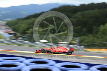 World © Octane Photographic Ltd. Formula 1 – Austrian GP - Practice 1. Scuderia Ferrari SF71-H – Sebastian Vettel. Red Bull Ring, Spielberg, Austria. Friday 29th June 2018.