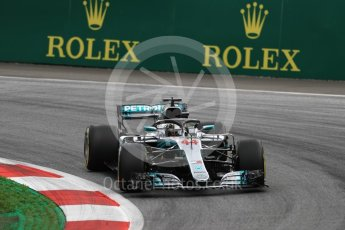 World © Octane Photographic Ltd. Formula 1 – Austrian GP - Practice 2. Mercedes AMG Petronas Motorsport AMG F1 W09 EQ Power+ - Lewis Hamilton. Red Bull Ring, Spielberg, Austria. Friday 29th June 2018.