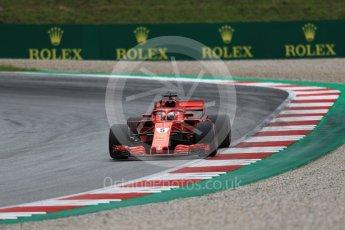 World © Octane Photographic Ltd. Formula 1 – Austrian GP - Practice 2. Scuderia Ferrari SF71-H – Sebastian Vettel. Red Bull Ring, Spielberg, Austria. Friday 29th June 2018.