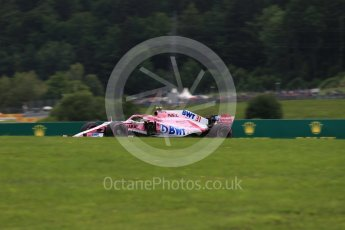 World © Octane Photographic Ltd. Formula 1 – Austrian GP - Practice 2. Sahara Force India VJM11 - Esteban Ocon. Red Bull Ring, Spielberg, Austria. Friday 29th June 2018.