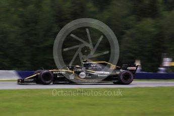 World © Octane Photographic Ltd. Formula 1 – Austrian GP - Practice 2. Renault Sport F1 Team RS18 – Carlos Sainz. Red Bull Ring, Spielberg, Austria. Friday 29th June 2018.