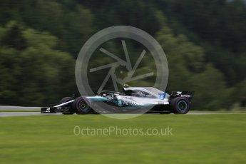 World © Octane Photographic Ltd. Formula 1 – Austrian GP - Practice 2. Mercedes AMG Petronas Motorsport AMG F1 W09 EQ Power+ - Valtteri Bottas. Red Bull Ring, Spielberg, Austria. Friday 29th June 2018.
