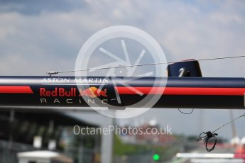 World © Octane Photographic Ltd. Formula 1 – Austrian GP - Practice 3. Aston Martin Red Bull Racing TAG Heuer logo. Red Bull Ring, Spielberg, Austria. Saturday 30th June 2018.