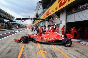 World © Octane Photographic Ltd. Formula 1 – Austrian GP - Practice 3. Scuderia Ferrari SF71-H – Kimi Raikkonen. Red Bull Ring, Spielberg, Austria. Saturday 30th June 2018.