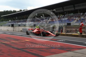 World © Octane Photographic Ltd. Formula 1 – Austrian GP - Practice 3. Scuderia Ferrari SF71-H – Sebastian Vettel. Red Bull Ring, Spielberg, Austria. Saturday 30th June 2018.