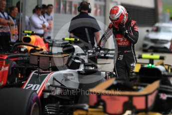 World © Octane Photographic Ltd. Formula 1 – Austrian GP - Qualifying. Haas F1 Team VF-18 – Kevin Magnussen. Red Bull Ring, Spielberg, Austria. Saturday 30th June 2018.