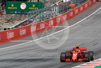 World © Octane Photographic Ltd. Formula 1 – Austrian GP - Race. Scuderia Ferrari SF71-H – Kimi Raikkonen. Red Bull Ring, Spielberg, Austria. Sunday 1st July 2018.