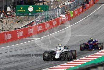World © Octane Photographic Ltd. Formula 1 – Austrian GP - Race. Williams Martini Racing FW41 – Sergey Sirotkin. Red Bull Ring, Spielberg, Austria. Sunday 1st July 2018.