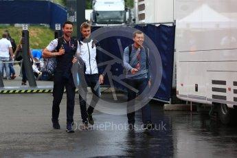 World © Octane Photographic Ltd. Formula 1 – Austrian GP - Paddock. Williams Martini Racing FW41 – Sergey Sirotkin. Red Bull Ring, Spielberg, Austria. Friday 29th June 2018.