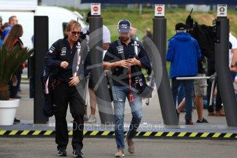 World © Octane Photographic Ltd. Formula 1 – Austrian GP - Paddock. Sahara Force India VJM11 - Sergio Perez. Red Bull Ring, Spielberg, Austria. Friday 29th June 2018.