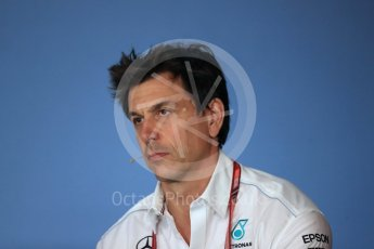 World © Octane Photographic Ltd. Formula 1 - Austrian GP – Friday FIA Team Press Conference. Toto Wolff - Executive Director & Head of Mercedes-Benz Motorsport. Red Bull Ring, Spielberg, Austria. Friday 29th June 2018.