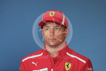 World © Octane Photographic Ltd. Formula 1 – French GP - Thursday Driver Press Conference. Scuderia Ferrari – Kimi Raikkonen. Red Bull Ring, Spielberg, Austria. Thursday 28th June 2018.