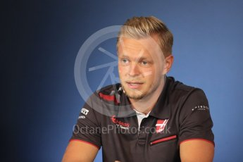 World © Octane Photographic Ltd. Formula 1 – French GP – Thursday Driver Press Conference. Haas F1 Team – Kevin Magnussen. Red Bull Ring, Spielberg, Austria. Thursday 28th June 2018.