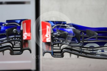 World © Octane Photographic Ltd. Formula 1 – Austrian GP - Pit Lane. Scuderia Toro Rosso STR13. Red Bull Ring, Spielberg, Austria. Thursday 28th June 2018.