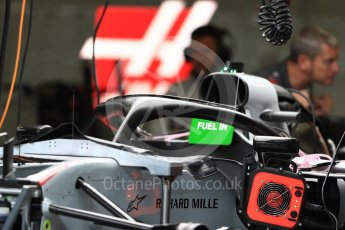 World © Octane Photographic Ltd. Formula 1 – Austrian GP - Pit Lane. Haas F1 Team VF-18. Red Bull Ring, Spielberg, Austria. Thursday 28th June 2018.