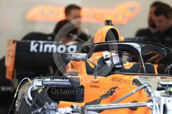 World © Octane Photographic Ltd. Formula 1 – Austrian GP - Pit Lane. McLaren MCL33. Red Bull Ring, Spielberg, Austria. Thursday 28th June 2018.