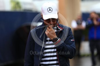 World © Octane Photographic Ltd. Formula 1 – Austrian GP - Paddock. Mercedes AMG Petronas Motorsport AMG F1 W09 EQ Power+ - Lewis Hamilton. Red Bull Ring, Spielberg, Austria. Thursday 28th June 2018.
