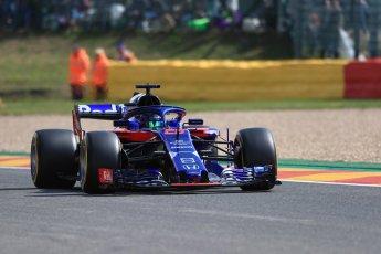 World © Octane Photographic Ltd. Formula 1 – Belgian GP - Practice 1. Scuderia Toro Rosso STR13 – Brendon Hartley. Spa-Francorchamps, Belgium. Friday 24th August 2018.