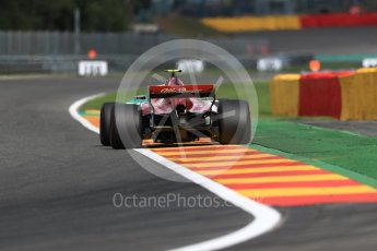 World © Octane Photographic Ltd. Formula 1 – Belgian GP - Practice 1. Alfa Romeo Sauber F1 Team C37 – Charles Leclerc. Spa-Francorchamps, Belgium. Friday 24th August 2018.
