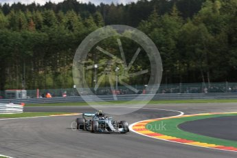 World © Octane Photographic Ltd. Formula 1 – Belgian GP - Practice 1. Mercedes AMG Petronas Motorsport AMG F1 W09 EQ Power+ - Valtteri Bottas. Spa-Francorchamps, Belgium. Friday 24th August 2018.