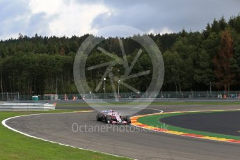 World © Octane Photographic Ltd. Formula 1 – Belgian GP - Practice 1. Racing Point Force India VJM11 - Sergio Perez. Spa-Francorchamps, Belgium. Friday 24th August 2018.