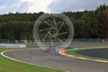 World © Octane Photographic Ltd. Formula 1 – Belgian GP - Practice 1. Scuderia Toro Rosso STR13 – Pierre Gasly. Spa-Francorchamps, Belgium. Friday 24th August 2018.