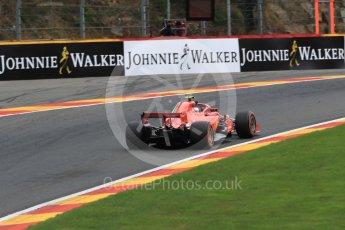 World © Octane Photographic Ltd. Formula 1 – Belgian GP - Practice 2. Scuderia Ferrari SF71-H – Kimi Raikkonen. Spa-Francorchamps, Belgium. Friday 24th August 2018.
