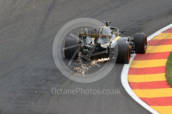World © Octane Photographic Ltd. Formula 1 – Belgian GP - Practice 2. Renault Sport F1 Team RS18 – Carlos Sainz. Spa-Francorchamps, Belgium. Friday 24th August 2018.