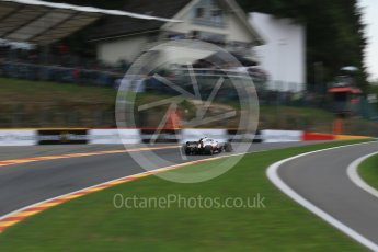 World © Octane Photographic Ltd. Formula 1 – Belgian GP - Practice 2. Haas F1 Team VF-18 – Kevin Magnussen. Spa-Francorchamps, Belgium. Friday 24th August 2018.