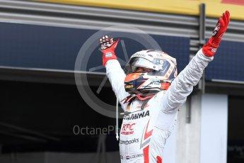 World © Octane Photographic Ltd. FIA Formula 2 (F2) – Belgian GP -  Race 1. Prema Powerteam - Nyck de Vries. Spa-Francorchamps, Belgium. Saturday 25th August 2018.
