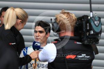 World © Octane Photographic Ltd. FIA Formula 2 (F2) – Belgian GP - Race 1. Carlin - Sergio Sette Camara. Spa-Francorchamps, Belgium. Saturday 25th August 2018.