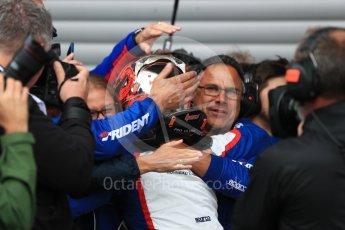 World © Octane Photographic Ltd. GP3 – Belgian GP – Race 1. Trident - David Beckmann. Spa Francorchamps, Belgium. Saturday 25th August 2018.