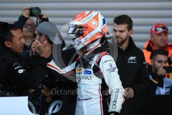 World © Octane Photographic Ltd. GP3 – Belgian GP –   Race 2. ART Grand Prix - Anthoine Hubert. Spa Francorchamps, Belgium. Sunday 26th August 2018.