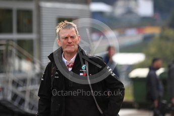 World © Octane Photographic Ltd. Formula 1 - Belgian GP - Paddock. James Allison - Technical Director of Mercedes-AMG Petronas Motorsport. Spa-Francorchamps, Belgium. Saturday 25th August 2018.