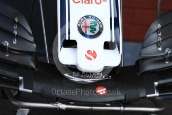 World © Octane Photographic Ltd. Formula 1 – Belgian GP - Pit Lane. Alfa Romeo Sauber F1 Team C37. Spa-Francorchamps, Belgium. Thursday 23rd August 2018.
