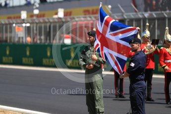 World © Octane Photographic Ltd. Formula 1 – British GP - Grid. Silverstone Circuit, Towcester, UK. Sunday 8th July 2018.