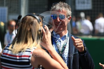 World © Octane Photographic Ltd. Formula 1 - British GP - Grid. Jason Plato - BTCC. Silverstone Circuit, Towcester, UK. Sunday 8th July 2018.