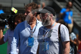 World © Octane Photographic Ltd. Formula 1 - British GP - Grid. Liam Cunningham (Davos Seaworth in Game of Thrones) Silverstone Circuit, Towcester, UK. Sunday 8th July 2018.
