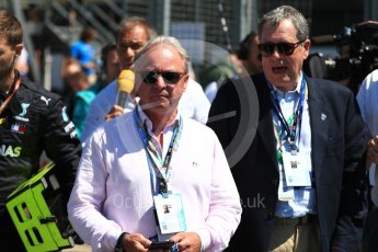 World © Octane Photographic Ltd. Formula 1 - British GP - Grid. Harry Handkammer. Silverstone Circuit, Towcester, UK. Sunday 8th July 2018.