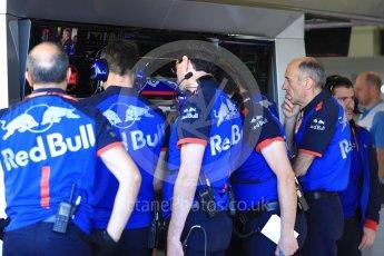 World © Octane Photographic Ltd. Formula 1 - British GP - Practice 3. Franz Tost – Team Principal of Scuderia Toro Rosso. Silverstone Circuit, Towcester, UK. Saturday7th July 2018.