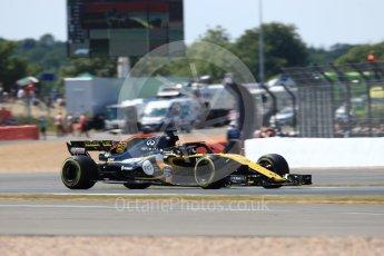 World © Octane Photographic Ltd. Formula 1 – British GP - Qualifying. Renault Sport F1 Team RS18 – Nico Hulkenberg. Silverstone Circuit, Towcester, UK. Saturday 7th July 2018.